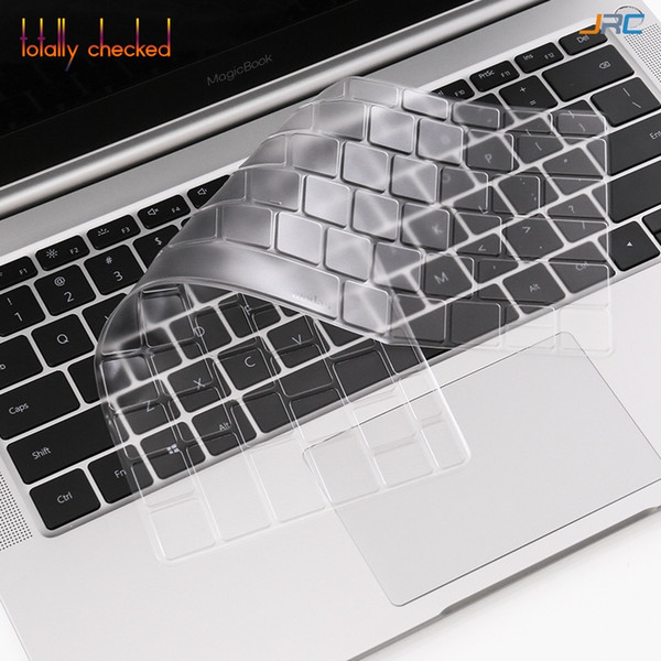 Ultra thin TPU laptop Keyboard Cover Skin Protector For Huwei MagicBook KPL-W00 VLT-W50 Notebook 14 inch
