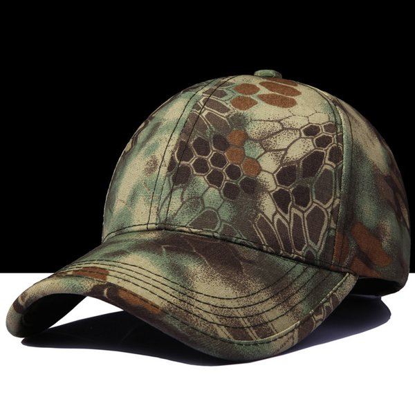Summer Tactical Baseball Cap Army Special Soldier Outdoor SWAT Combat Camouflage Train Hat Men Casual Camping Camo Sun Hat