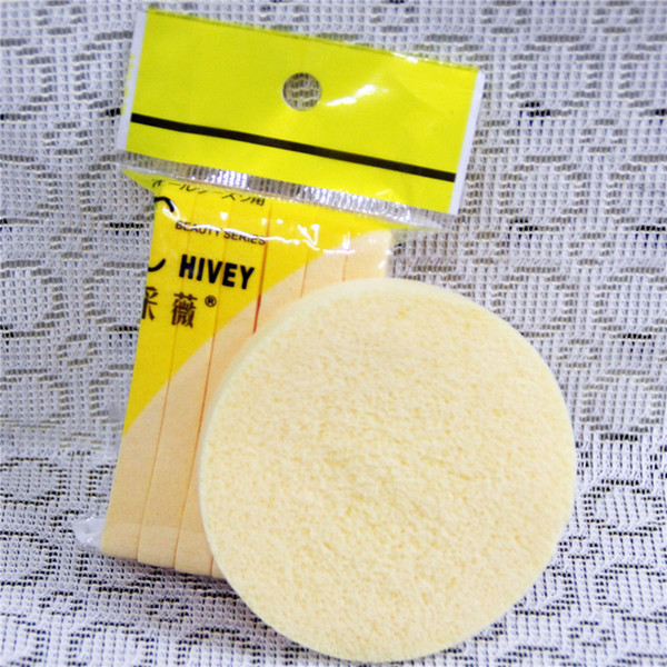 12 PCS=1 lot Soft Compressed Sponge Face Cleaning Sponge Facial Wash Cleaning Pad Exfoliator Cosmetic Puff Face Cleaning Puff