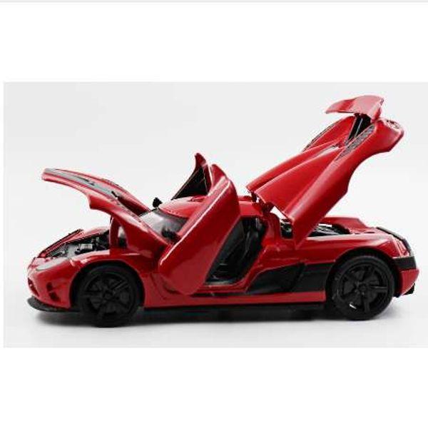 1: 32.MZ Koenigsegg сплава спортивный автомобиль модель ребенка игрушки коллекция украше