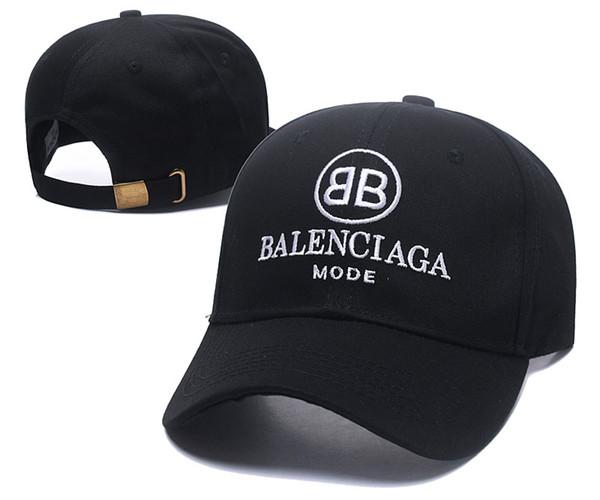 Casquette bonnet Wave de la marque 2018 cola logo 17FW Homme Femmes Unisexe Rouge Casquettes de baseball à bretelles casquettes casquette à broderie noire
