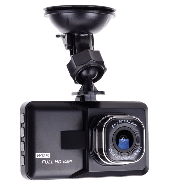 Schermo da 3 pollici Full HD 1080P Car DVR mini veicolo Dash car Camera Cam Recorder Registratore video Parking Recorder G-sensor