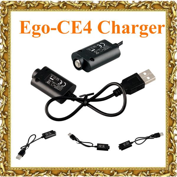 Hot Ego-CE4 Electronic Cigarette USB Chargers for ego/ego-T/Ego-K Joye 510 E Cigarette by DHL free 0205012