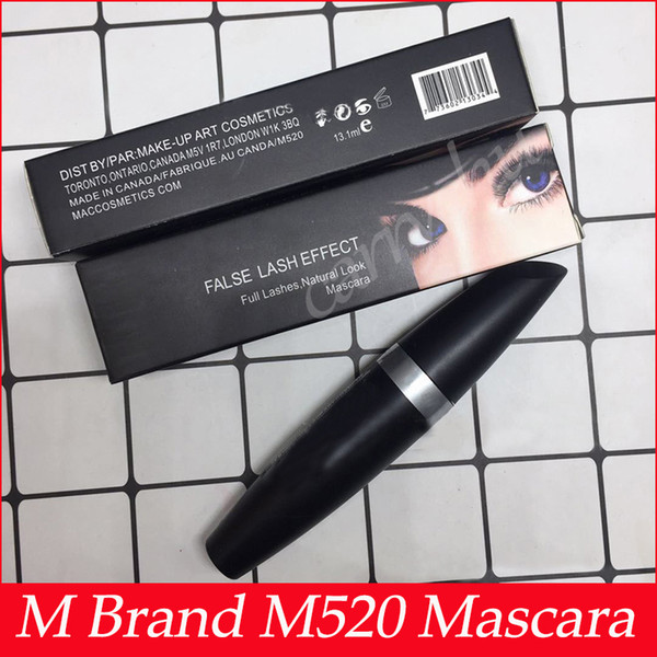 bc9f0cf4a0a M Brand Makeup Mascara False Lash Effect Full Lashes Natural Mascara Black  Waterproof M520 Eyes Make