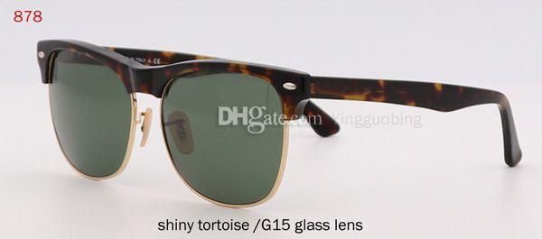 lente in vetro lucido tartaruga / G15
