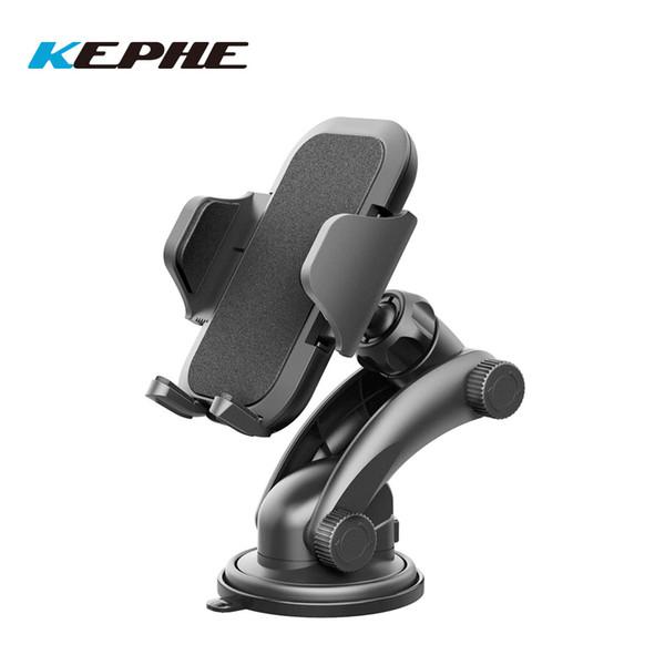 vente en gros universel support de téléphone de voiture de tableau de bord / w conception à une touchele pad gel forte collante lavable pour iPhone X / 8 / 8Plus7 / 7p / 6s / 6p