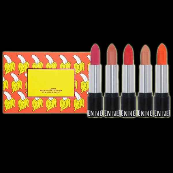 New Arrival The Summer Collection Lipstick Kit Hot Brand Matte Lipstick set 5colors with Name Free Shipping Hot SALE