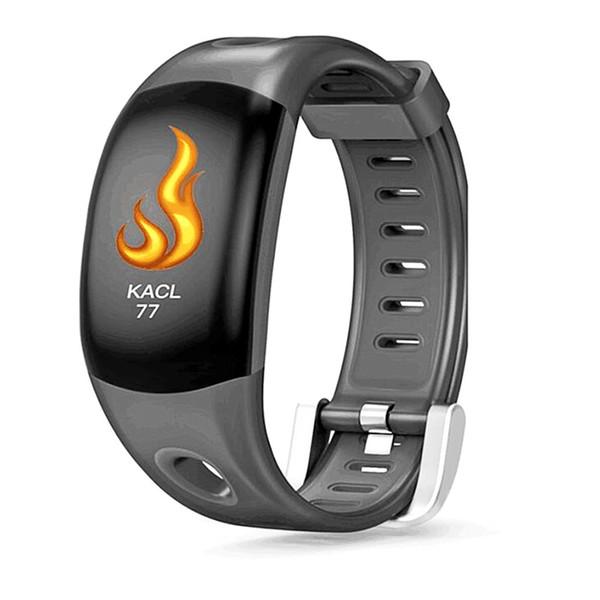 smart wristband black color