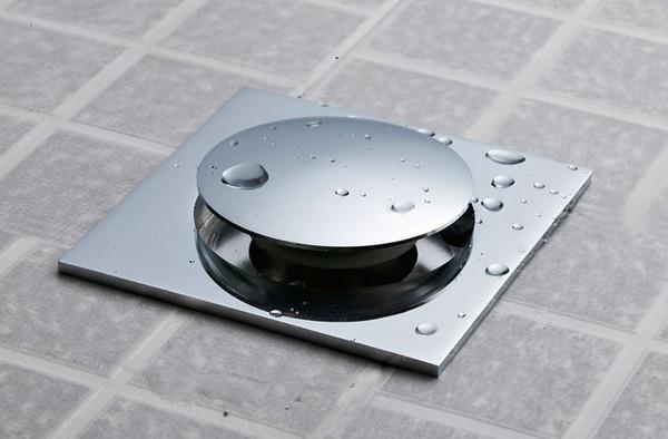 top popular stylish copper shower floor drain bathroom water anti-odor floor drain floor drain 2021