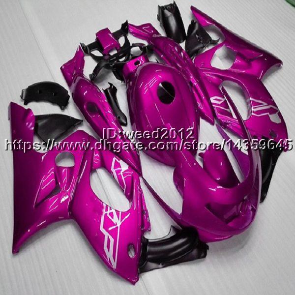 23colors + 5Gifts Kits de carenado completo para Yamaha YZF 600R 1997 1998 1999 2000 2001 2002 2003 2004 2005 2006 2007 Cubierta de motor Thundercat YZF 600 R