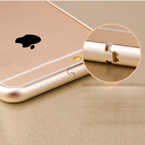 Free shipping Global hits For apple bumper case Luxury Aluminum Pure Color mobile case Frame Metal Phone Case Cover Coque