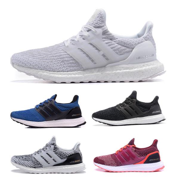 0 Damen Sneaker Weiß Laufsport US 3 Größe Herren Hohe 4 0 Triple Großhandel Schuhe Qualität Schuhe 5 3 Ultra 0 Adidas Schwarz Atmungsaktiv Ultra 12 K1TlFJc