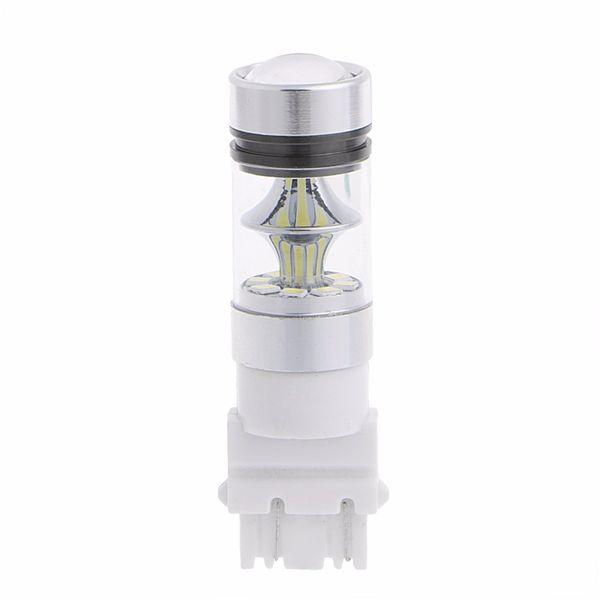 3156 3157 100W 20LED High Power LED Car Fog Lamp Car Refit Light Bulb fog lamp headlights Car styling Accessories
