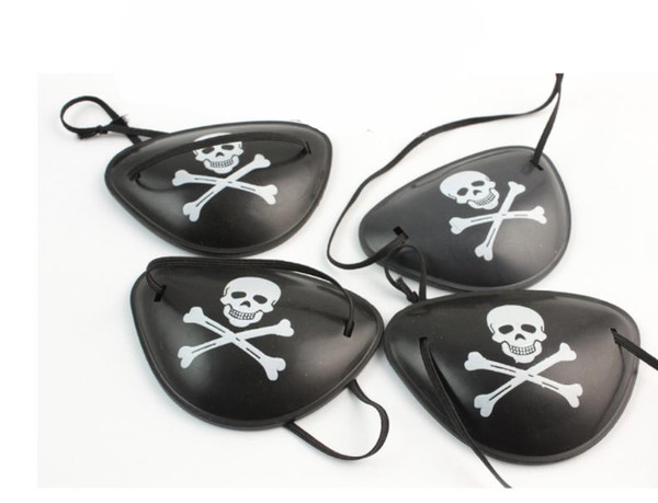 500pcs New Arrival Pirate Eye Patch Skull Crossbone Halloween Party Favor Bag Costume Kids Toy Craft Gifts Free shipping