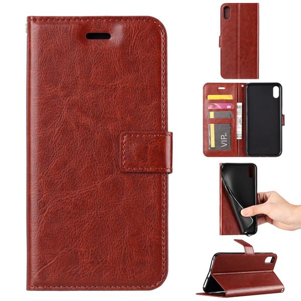 Caso de volta para o caso de suporte de carteira de cartão de sacudidela de couro de luxo de xr xs xs de maçã de samsung para samsung nota 9