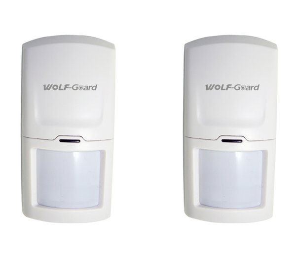 Wolf-Guard Wireless PIR Motion Sensor Detector Anti-Tamper Alarm for Home Security Alarm System 3G/GSM Alarm Panel 433MHZ HW-03D 2pcs/lot