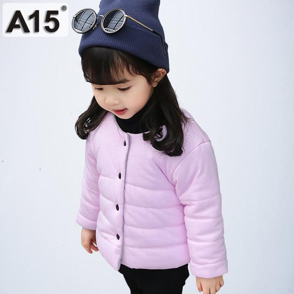A15 Kız Erkek Pamuklu Ceket Kaban
