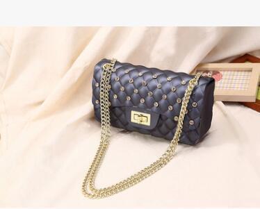 Free shipping 2017 new Messenger Bag Shoulder Bag Mini fashion chain bag women star favorite perfect small package