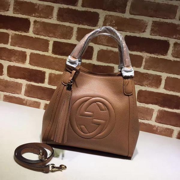 huweifeng4 Lettera Qualità design Tracolla superiore goffratura borsa di moda donne vera pelle 336751 borsetta