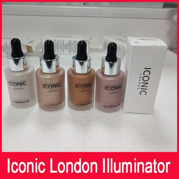 Auf Lager Iconic London Illuminator Liquid Textmarker In Shine Original Shine Glow Dreifarbiges Gesicht Make up Textmarker 4 Color