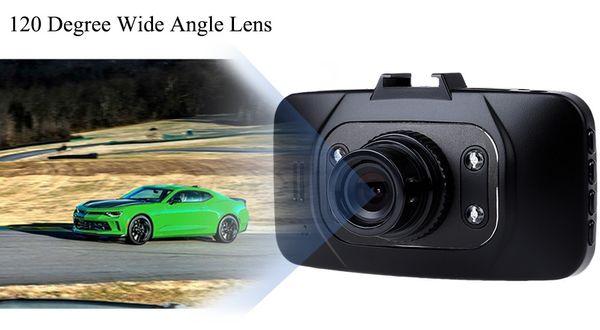 "GS8000L 1080P Car DVR Camera 2.7"" LCD Car Video Recorder HDMI 4 IR Lights 140 Degrees GS8000 free shipping"