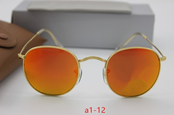227fa1f255ee6 Clássico óculos de sol de vidro retro de alta qualidade designer óculos  óculos lente dos homens