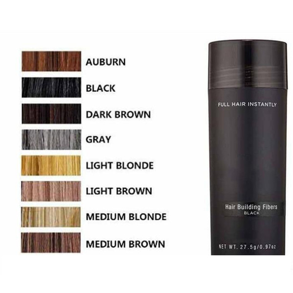 best selling Top pppk Hair Fiber Keratin Powder Spray Thinning Hair Concealer 10 colors Hot Items DHL Free Shipping