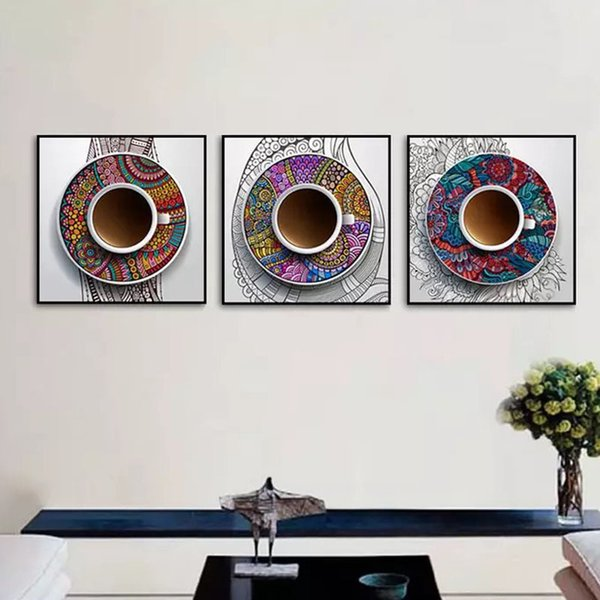 Modern Minimalist Decorative Painting Guest Dining Room Wall Hotel Hanging  Picture Porch Electric Meter Box Study Bedroom Triple