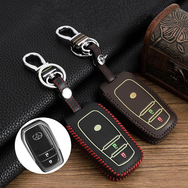 2/3 knöpfe Remote Smart key fall shell abdeckung Für Toyota HIGHLANDER / Camry / Corolla / Krone / REIZ / RAV4 / EZ