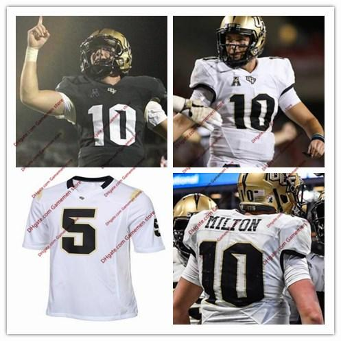 pretty nice 8f093 06ae2 2019 Custom NCAA UCF Knights McKenzie 10 Milton Mens College Football  Stitched Jersey #5 Blake Bortles #6 Brandon Marshall S 3XL All Embroidery  From ...