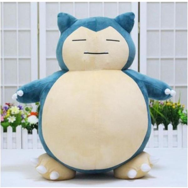 Nueva llegada de anime japonesa SNORLAX juguetes de peluche de juguete de felpa Kabigon suaves muñecos de 30 cm LA031 Figura regalo