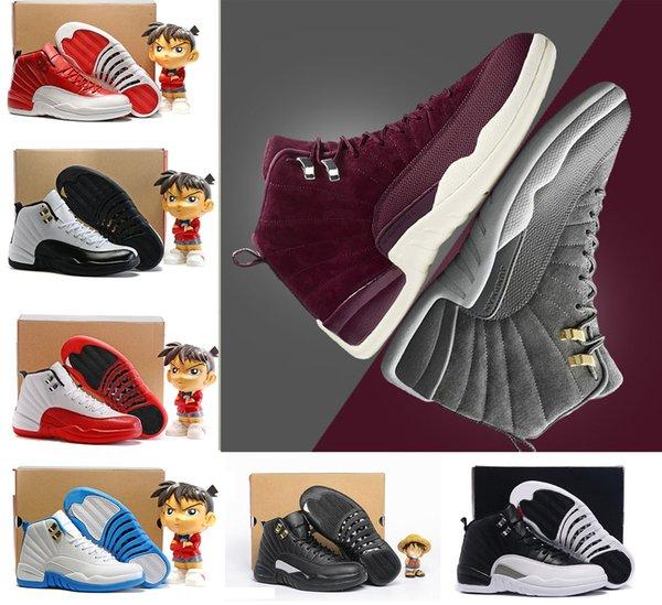 ... formateur Livraison gratuite. Pas cher chaussures 12 s mens Basketball  chaussures 12 12 s sneaker TAXI BLAck jeu de