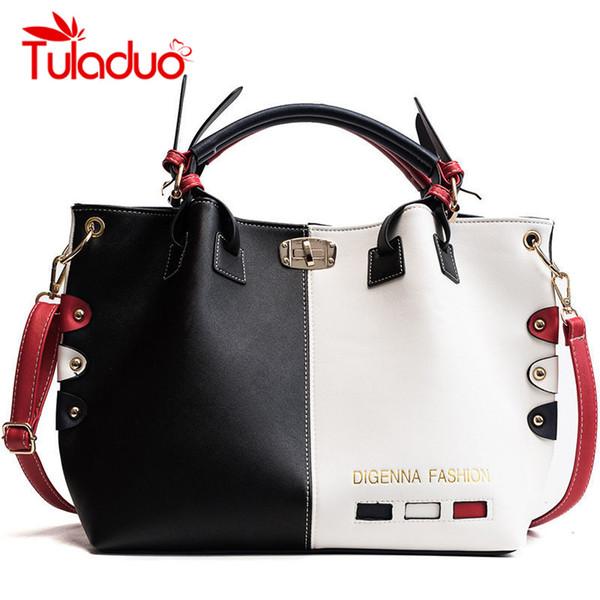 TULADUO Brand Handbags Women Bags PU Leather Shoulder Bags For Women 2018  Large Capacity Bucket Ladies Bolsa Feminina 2018 86bc848a41