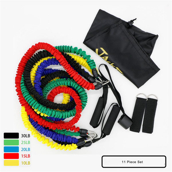 Pilates Latex Tubing Expanders Rubber Elastic Fitness Resistance Bands Elastic Band Rope Yoga Rubber Band Gym Exercise Equipment