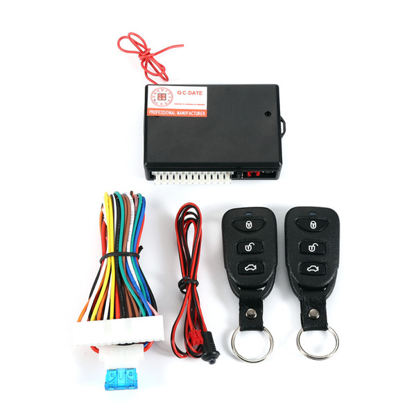 top popular TSK-405 Car Auto Remote Central Kit Door Lock Vehicle Keyless Entry System Central Locking with Remote Control Car Alarm Systems 2021