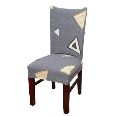 Dreamworld 1 pc Capas de Cadeira Spandex Marrom Sliver Elastic Cadeira Cobre Estilo Americano Covers para Cadeiras Wedding Dinner Restaurant