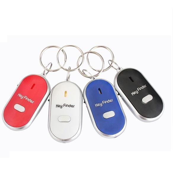 Anti-verlorene Keychain-Finder-Sensor-Warnungs-Pfeiffer-Schlüsselfinder-LED sicher Sicherheitston-Steuerung