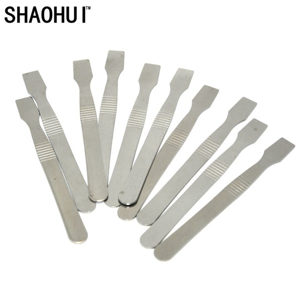 100pcs/lot Memory Tin Scraper Metal Solder Paste Knife Pry Phone Repair Tool new arrival free shipping