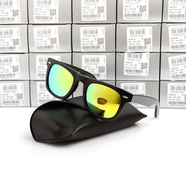 Black Frame yellow Lens 50MM