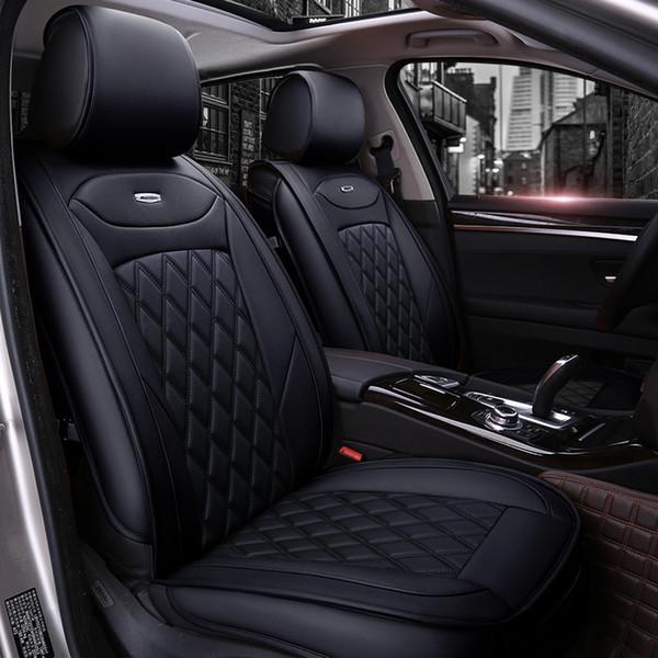 Luxo couro PU tampas de assento do carro Para Audi A6L R8 Q3 Q5 Q7 A1 A4 A3 A3 A5 A6 A6 auto acessórios do carro estilo
