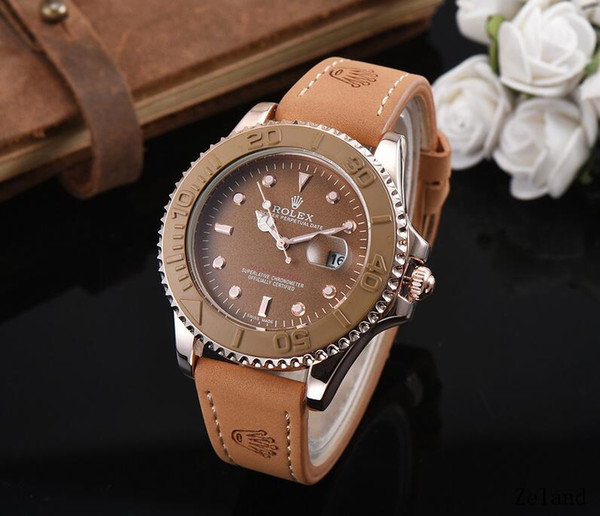 diamond daydate designer watches new luxury fashion brand product in men and women date new steel clock quartz watches for men