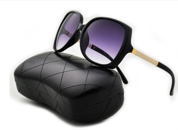 Lüks Güneş Gözlüğü Yüksek Nitelikleri Yeni Sıcak satış Güneş Erkekler Marka Perçinler Metal Tasarım Ayna Güneş Gözlüğü Kadın Gözlük Kutusu Ile UV400