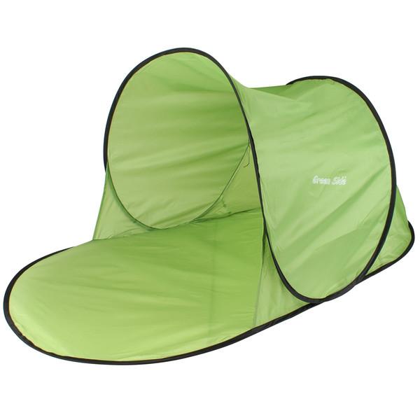 À prova d 'água ao ar livre sol verão sombra UV tenda de proteção totalmente automático rápido aberto pop up praia toldo camping caminhadas tenda