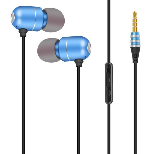 JTX Jiatian S901 in-ear metal wire headset can adjust the volume