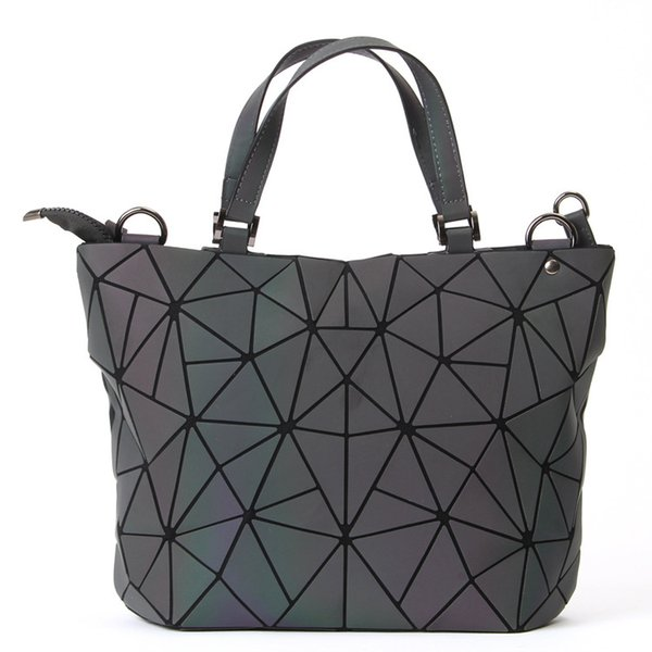 5d3fe3ae5d78 Maelove Luminous Bag Women Geometry Diamond Tote Quilted Shoulder Bags  Laser Plain Folding Handbags Hologram Crossbody Bags Satchel From  Xiao198934, ...