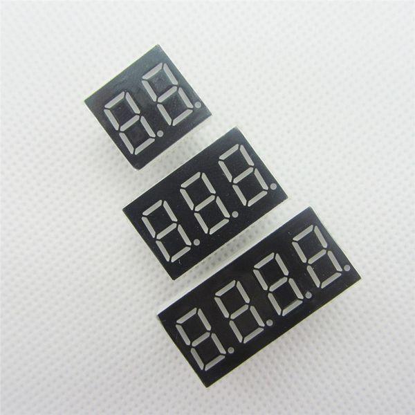 Büyük indirim!!! 15 adet 2/3/4 bit (boyutu başına 5 adet) Ortak Katot Dijital Tüp 0.36