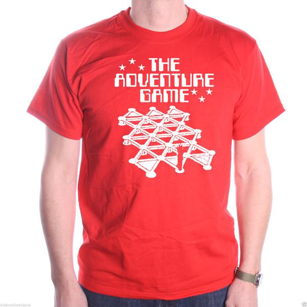The Adventure Game T Shirt - Vortex Cult Kids TV Classic T shirt Crystal Maze The New Short Sleeve T-Shirt Funny Print Men Short Sleeves