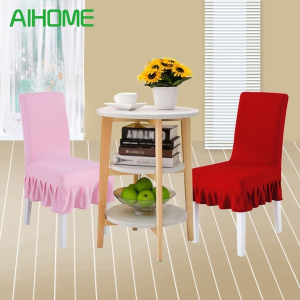 1PC Universal Stretch Chair Cover For Wedding Party Banquet Event Hotel Home Dining Chair Covers Restaurant Seat Protector