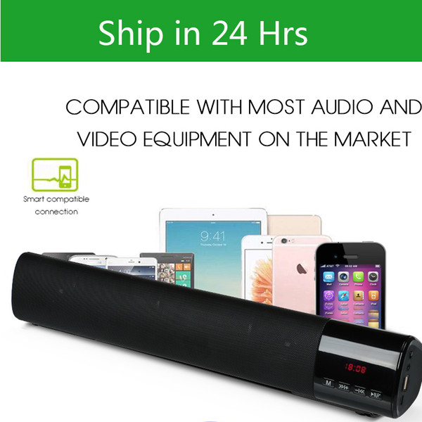 top popular B28s Bluetooth Wireless Speaker Mini Stereo Super Bass Subwoofers Support TF Card FM Handsfree Mic Speaker With LED Display Screen With Box 2019