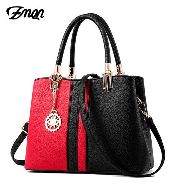 ZMQN Handbags Bag for Women Leather Handbags 2018 Brand Hard Hand Bag Cheap Wholesale Crossbody Shoulder Bags Female Bolsas A834 Y1892506